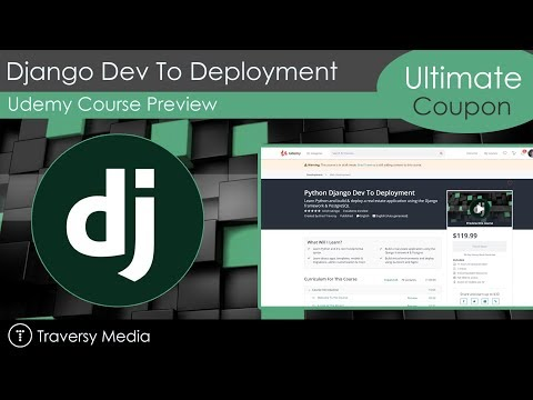 PYTHON DJANGO DEV TO DEPLOYMENT [Udemy Course Free Download]