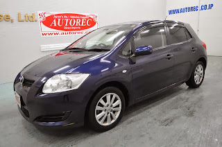 2007 Toyota Auris 180g For Kenya To Mombasa Ref No 19659s9n5
