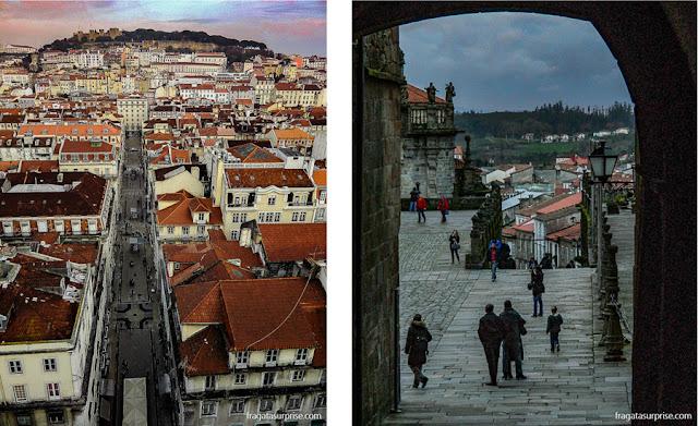 Natal em Lisboa e Ano Novo em Santiago de Compostela