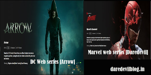 Marvel Web Series,Top Action Web Series Marvel and DC,DC Web Series,Movies/ Web Series,Daredevil Web series,