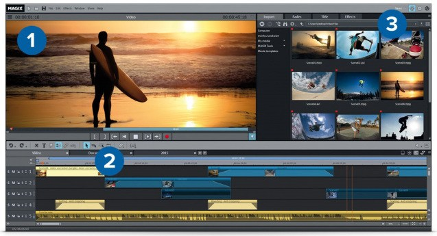 MAGIX Movie Edit Pro 2017 Premium Full Version