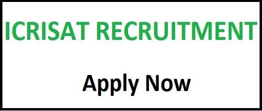 ICRISAT Various Post Recruitment 2020