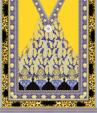 Lavanya-Geometric-Textile-Kaftan 32
