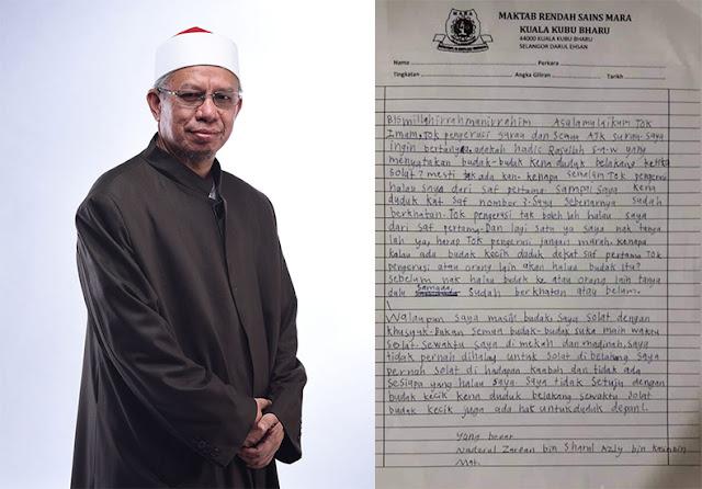 jawapan surat saf pertama viral oleh mufi wilayah