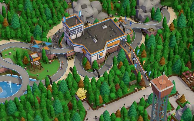 รีวิวเกม PC แนวสร้างสวนสนุก สวนสัตว์