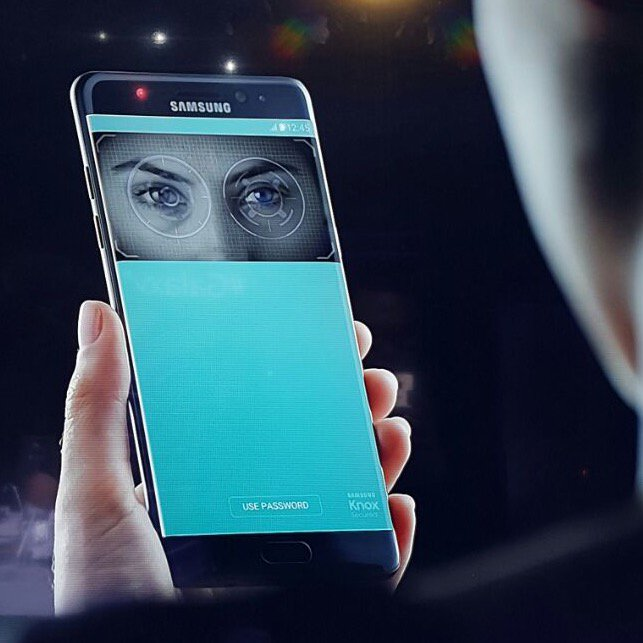 Samsung Galaxy Note 7 has iris scanning technology