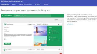 Sito Google App Maker