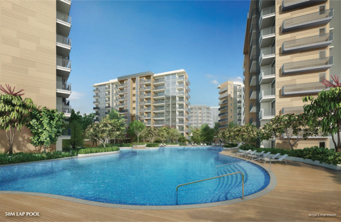 Sengkang Grand Residences - 50m Lap Pool