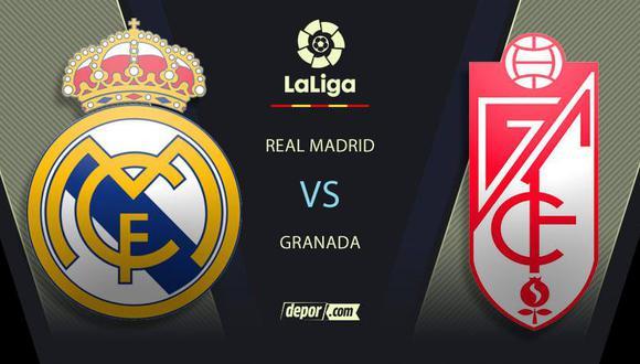 Real Madrid vs. Granada EN VIVO a través de DIRECTV y Movistar: canales de TV y transmisión por LaLiga