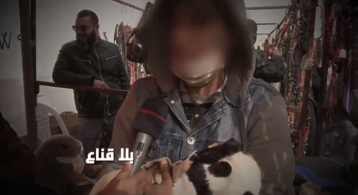 """بالفيديو: تونسي يبيع """"باندا"""" نادرة في سوق منصف باي ب 10 الف دينار"""