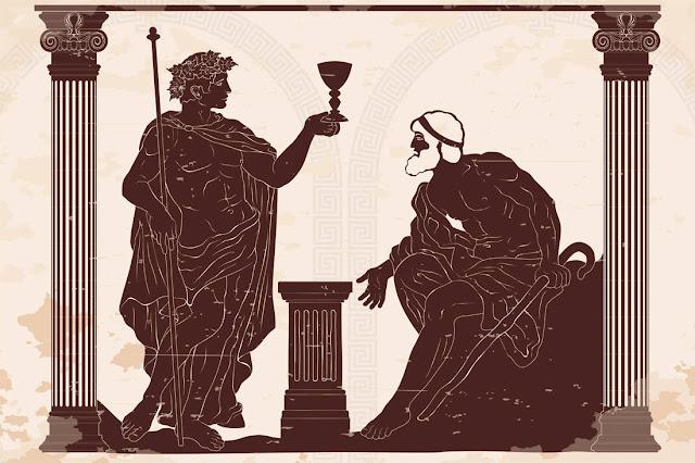 Το κοκτέιλ των αρχαίων Ελλήνων και η αρπαγή της Περσεφόνης