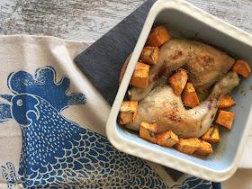 pollo-al-horno-con-batatas-y-miel