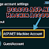 What is ASP.NET Machine Account and Should it be Deleted or not