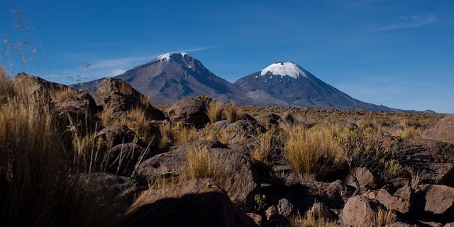 Volcanoes of Parinacota, Chile