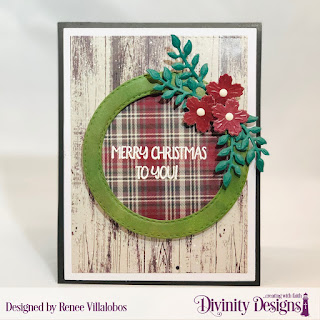Stamp/Die Duos: Loads of Love, Custom Dies: Bitty Blossoms, Double Stitched Circles, Paper Collection: Rustic Christmas