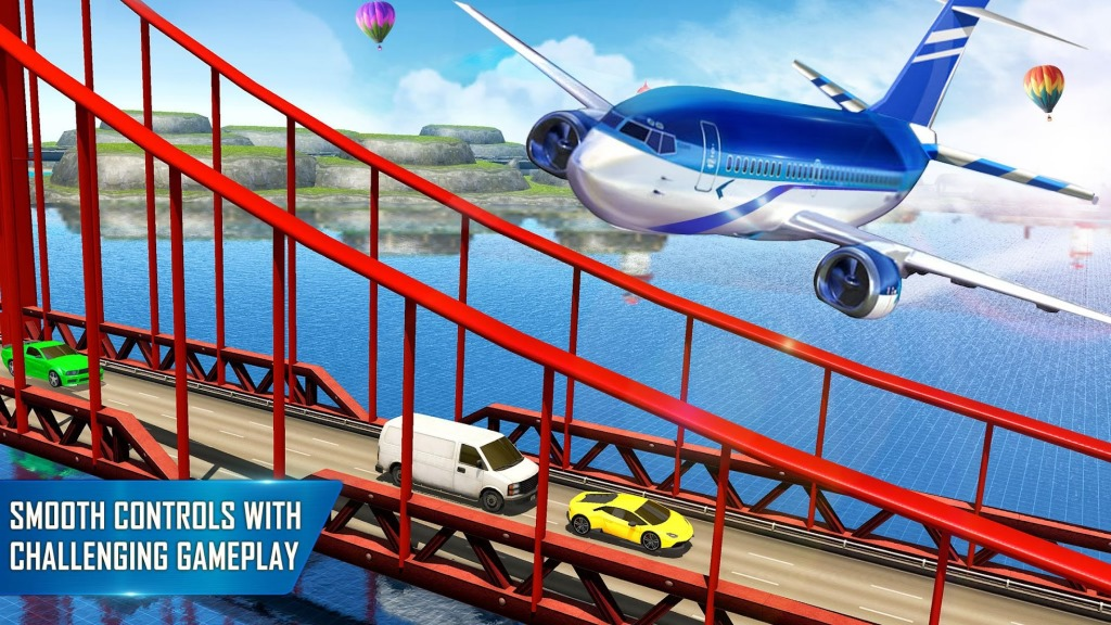 Game Pesawat Terbaik di Android City Flight Airplane Simulator: New Plane Games