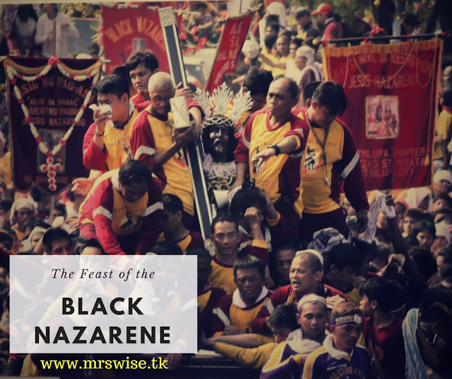 Black Nazarene captured by Canon Philippines