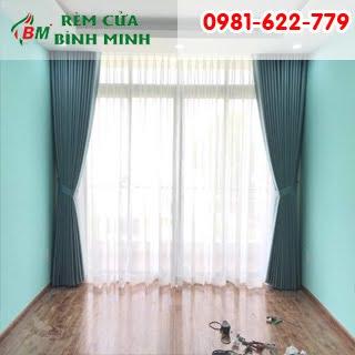 Rèm vải chống nắng cao cấp cho phòng khách và phòng ngủ,công trình tại tân phú đồng xoài.