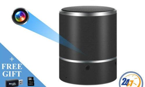 Best spy camera speaker night vision