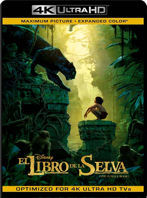 El Libro De La Selva (2016) 4K 2160p UHD [HDR] Latino [GoogleDrive]