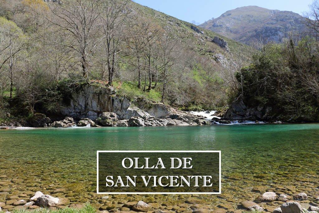 Olla de San Vicente, bonito paseo junto al río Dobra