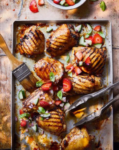 Pimm's layered chicken