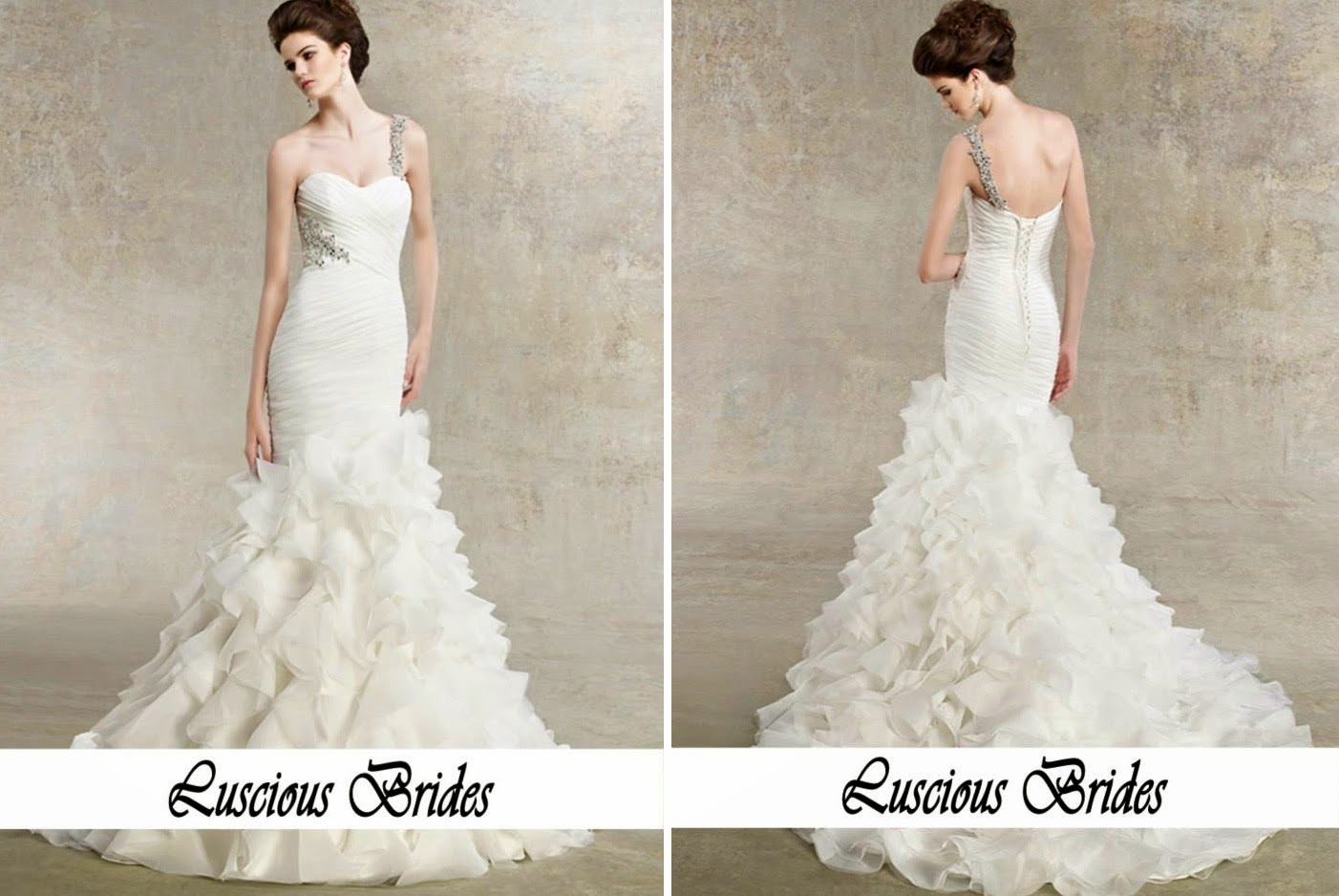 unique design amaryllis bridal