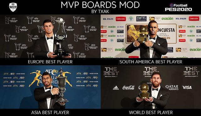 PES 2020 MVP Boards Mod by Txak