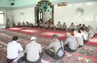 SPN Polda Jambi Laksanakan Kegiatan Pembinaan Rohani Rutin Setiap Kamis