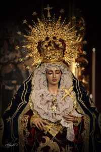 Horario e Itinerario Rosario de la Aurora de la Virgen del Rosario. Puente Genil 10 de Octubre del 2021