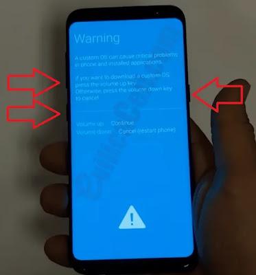 Flash Samsung Galaxy S8 SM-G950FD