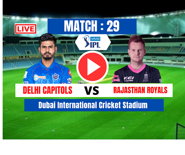 DRAM11 IPL 2020, MATCH 30: DC VS RR,Delhi Capitals have won the toss and have opted to bat