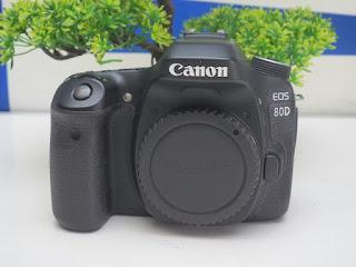 Canon EOS 80D  Body Only Bekas