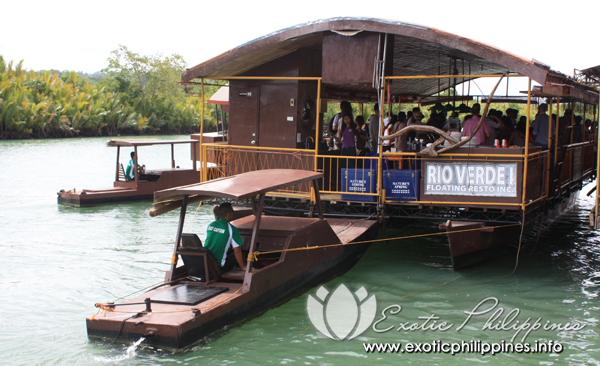 Loboc River Rio Verde Floating Restaurant Bohol Philippines