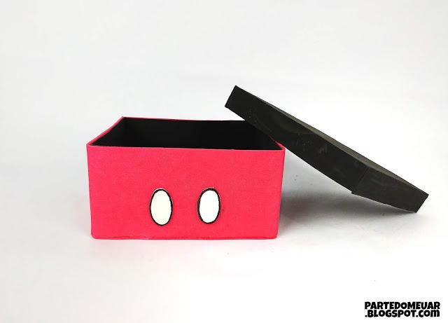 caixa mickey
