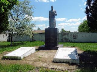 Новоолексіївка. Херсонська обл. Військовий меморіал