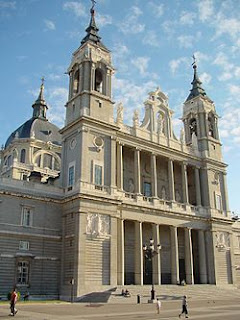 Castillo Almudena Madrid