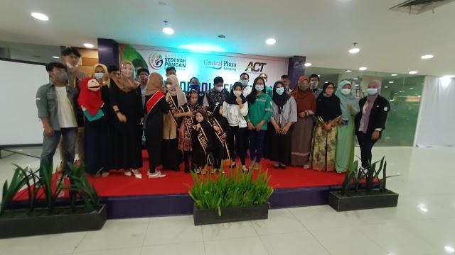 Dongeng dan Musik Religi Hibur Pengunjung Central Plaza Lampung dalam Ngobrol Kemanusiaan bareng Komunitas