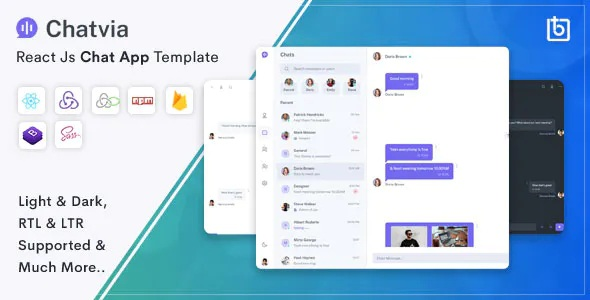 Best Responsive Chat App Template