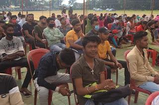 मंत्री कावरे ने उकवा में  प्रोजेक्ट उत्थान के अंतर्गत नि:शुल्क कोचिंग का शुभारम्भ किया