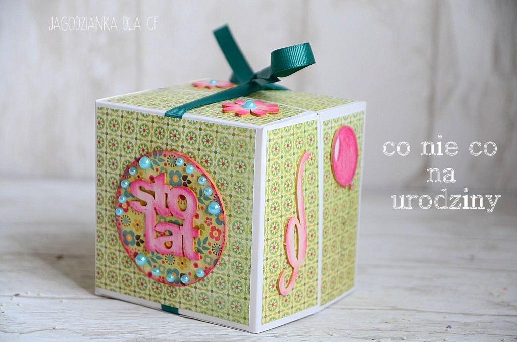 Zaawansowane inspirujący CRAFTfun: Kurs na pudełko urodzinowe ZB26