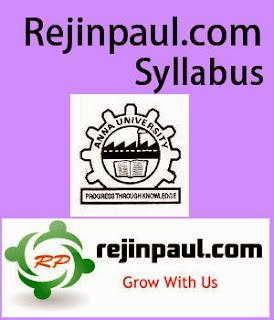 Regulation 2017 3rd Semester Syllabus all Department Anna University