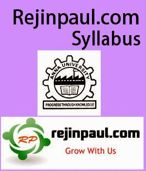 Anna University Syllabus Pdf