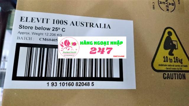 Healthy Mum cho bà bầu nhập nguyên thùng chính hãng từ Úc