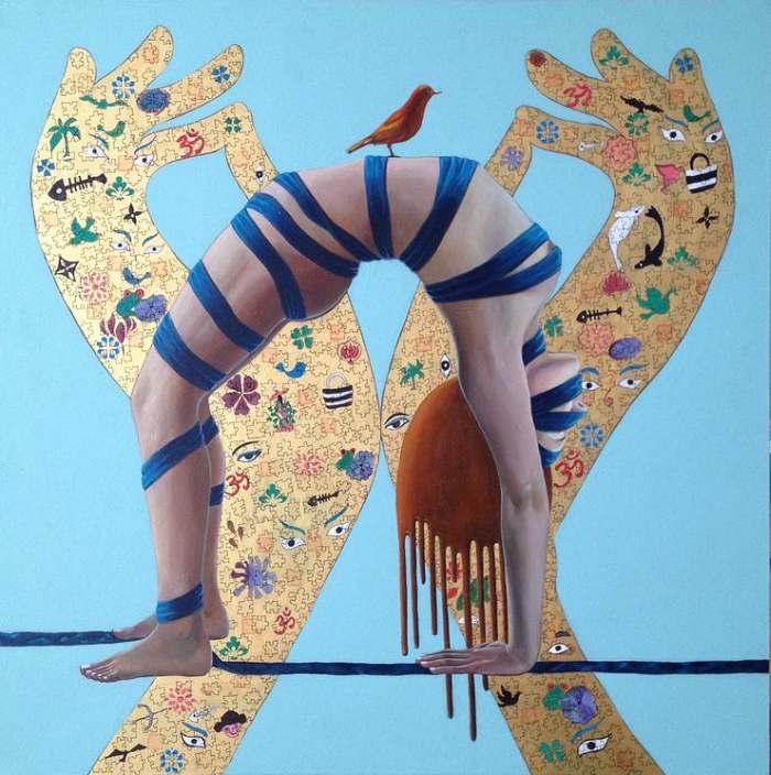 Китайский художник. Terri Duan