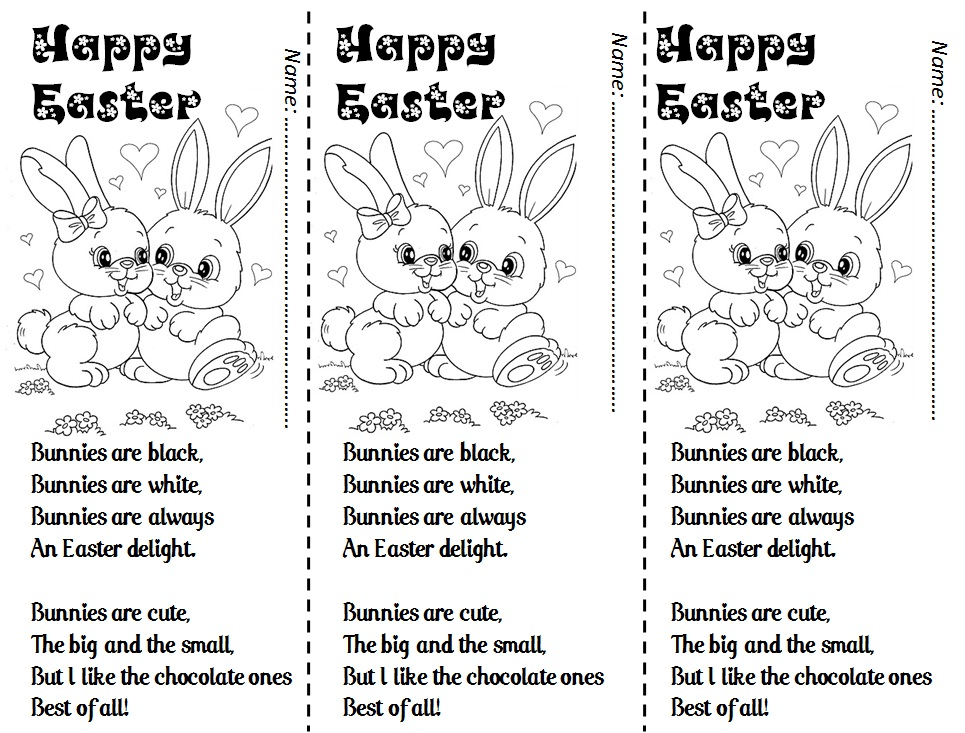 easter poems for kids - photo #24