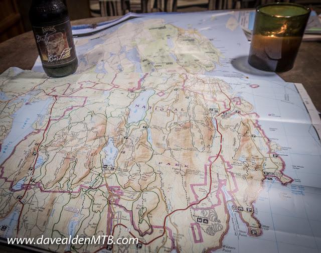 acadia national park, gravel roads, carriage roads, gravel biking, davealdenMTB