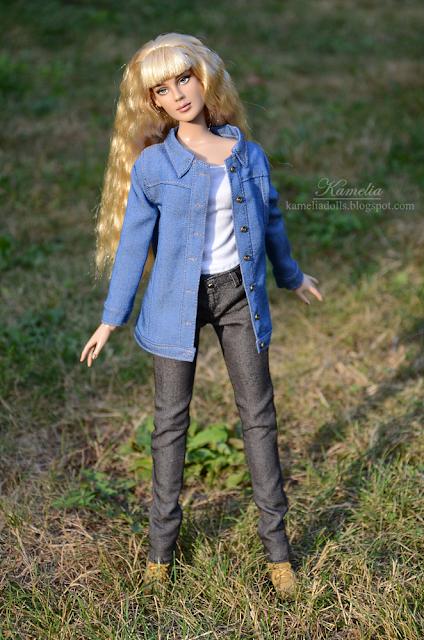 Tonner Doll Rose Basic repaint