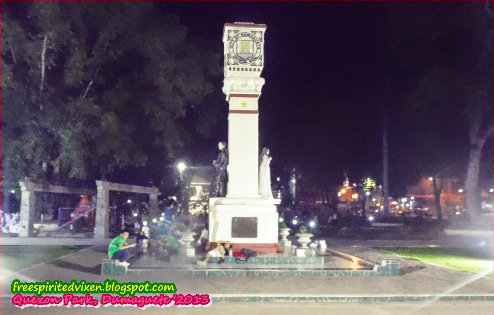 Quezon Park, Dumaguete