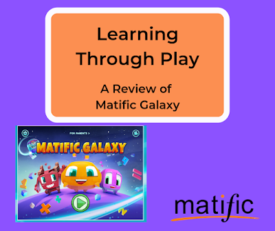 screenshot of Matific Galaxy